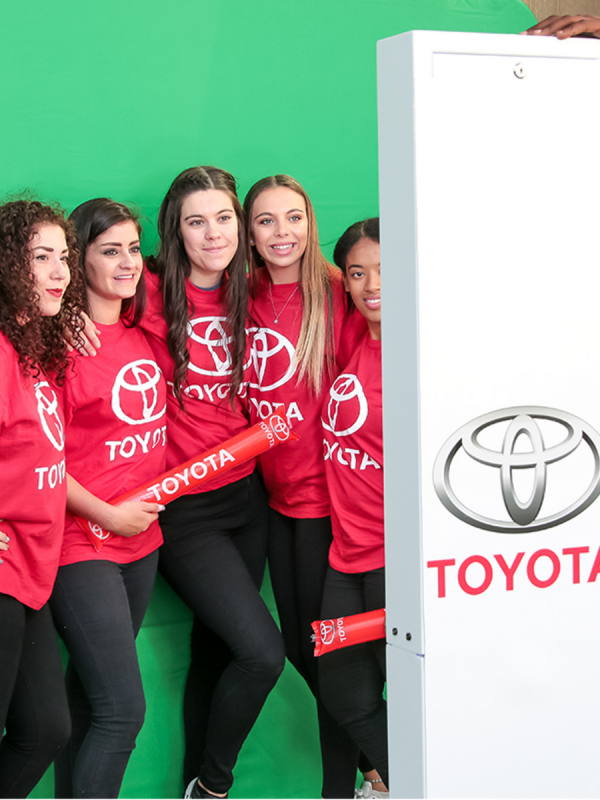 Corporate Events, Toyota, Photo-booth