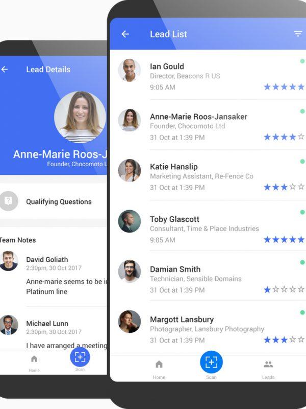 Event Suite App Interface